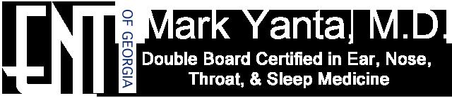 Adult ENT Alpharetta, GA | Dr  Mark Yanta Ear, Nose, Throat